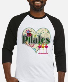 PIlates Fanciful Flowers Baseball Jersey
