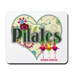 PIlates Fanciful Flowers Mousepad