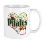 PIlates Fanciful Flowers Mug