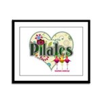 PIlates Fanciful Flowers Framed Panel Print