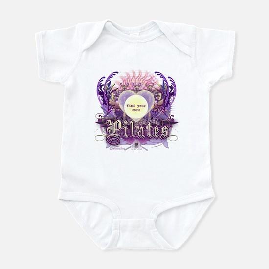 Pilates Find Your Core Infant Bodysuit