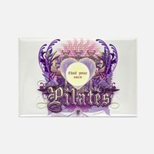 Pilates Find Your Core Rectangle Magnet