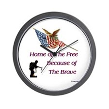 Because of the Brave Wall Clock