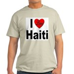 I Love Haiti (Front) Light T-Shirt