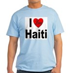 I Love Haiti Light T-Shirt