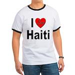 I Love Haiti (Front) Ringer T