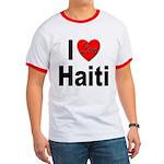 I Love Haiti Ringer T