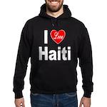 I Love Haiti (Front) Hoodie (dark)