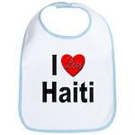 I Love Haiti Bib