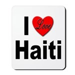 I Love Haiti Mousepad
