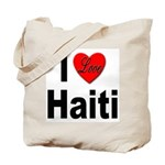 I Love Haiti Tote Bag