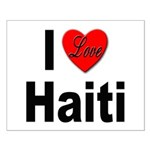I Love Haiti Small Poster