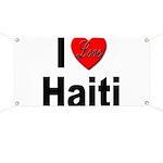 I Love Haiti Banner