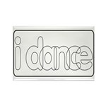 I Dance Rectangle Magnet (100 pack)