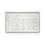 I Dance Rectangle Magnet (10 pack)