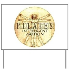 Pilates Intelligent Motion Yard Sign