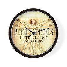 Pilates Intelligent Motion Wall Clock