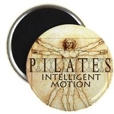"Pilates Intelligent Motion 2.25"" Magnet (10 pack)"