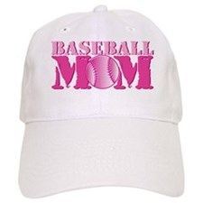 Baseball Mom pink Baseball Baseball Cap