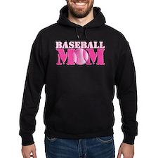 Baseball Mom pink Hoodie