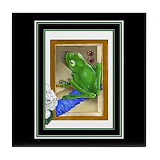 """""""Raptured Frog"""" Tile Coaster"""