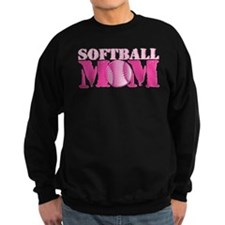 Softball Mom pink Sweatshirt