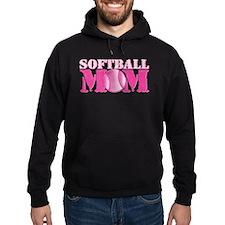 Softball Mom pink Hoodie