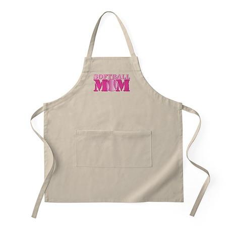Softball Mom pink Apron