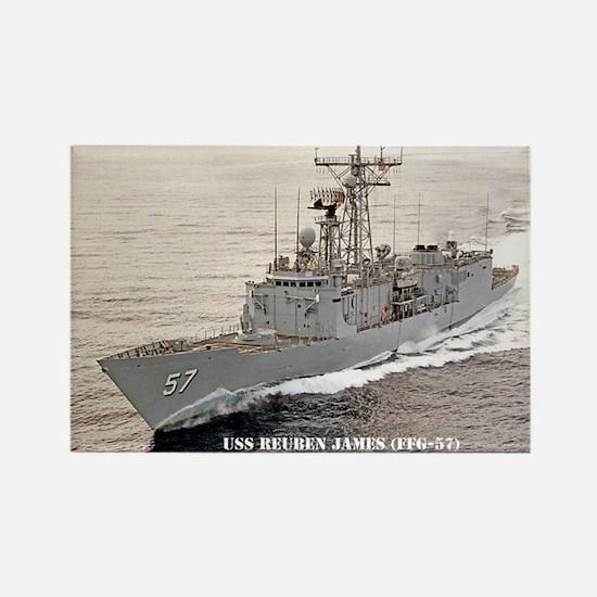USS REUBEN JAMES Rectangle Magnet