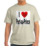I Love Port-au-Prince Haiti (Front) Light T-Shirt