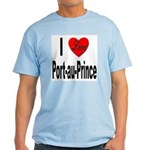 I Love Port-au-Prince Haiti Light T-Shirt