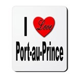 I Love Port-au-Prince Haiti Mousepad