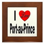 I Love Port-au-Prince Haiti Framed Tile