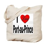 I Love Port-au-Prince Haiti Tote Bag