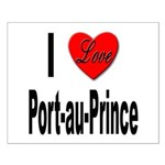 I Love Port-au-Prince Haiti Small Poster