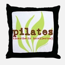 Pilates Kinesthetic Intellectual Throw Pillow