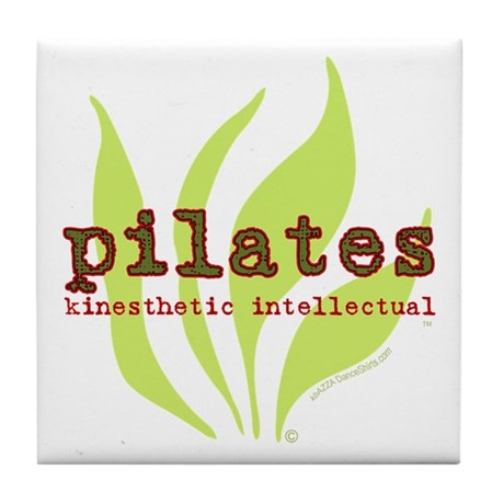 Pilates Kinesthetic Intellectual Tile Coaster