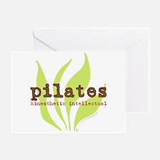 Pilates Kinesthetic Intellectual Greeting Card
