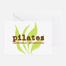 Pilates Kinesthetic Intellectual Greeting Cards (P