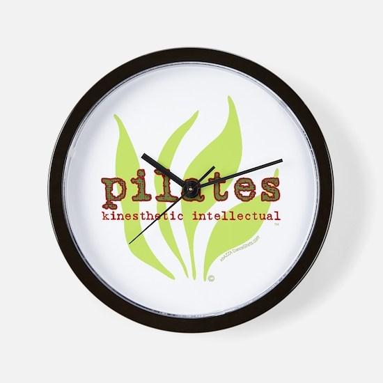 Pilates Kinesthetic Intellectual Wall Clock