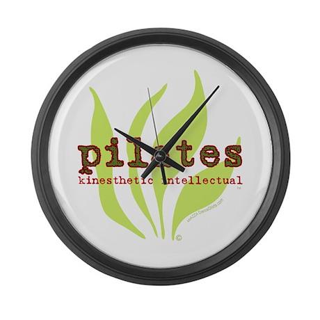 Pilates Kinesthetic Intellectual Large Wall Clock