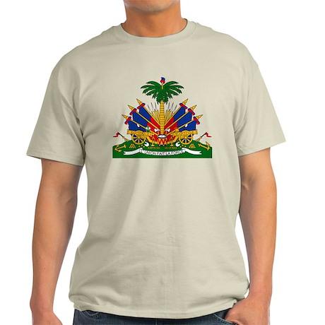Haiti Coat of Arms (Front) Light T-Shirt