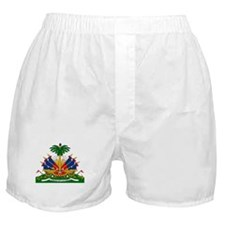 Haiti Coat of Arms Boxer Shorts