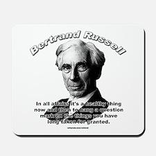 Bertrand Russell 01 Mousepad