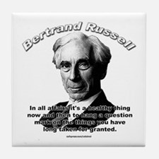 Bertrand Russell 01 Tile Coaster