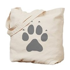Wolf Paw Reusable Shopping Tote Bag