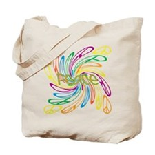 Peace Signs Tote Bag