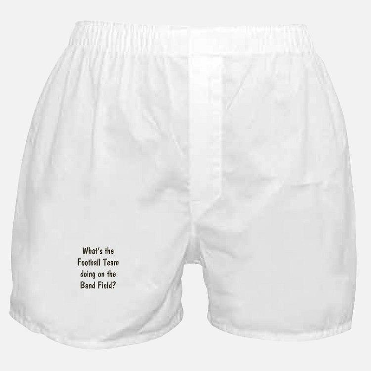 Band Geek Boxer Shorts
