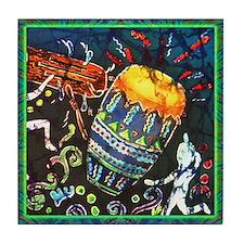 Conga Drum Tile Coaster