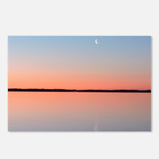 Moon Sunrise Postcards (Package of 8)